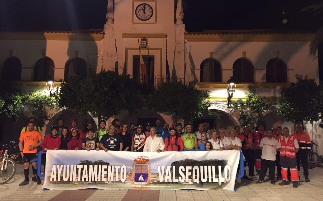 III Marcha nocturna solidaria MTB organizada por la Asamblea Comarcal de la Cruz Roja 1