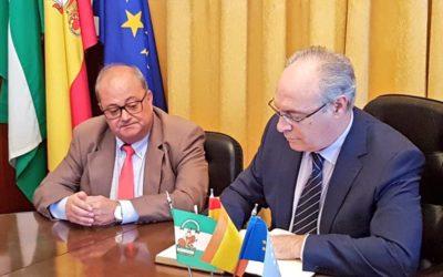 Visita institucional Presidente del Parlamento Andaluz