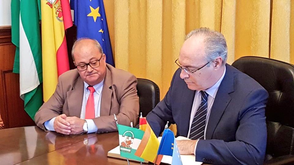 Visita institucional Presidente del Parlamento Andaluz 1