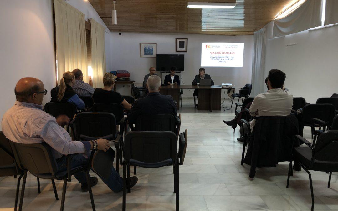 PRESENTACIÓN PLAN MUNICIPAL DE VIVIENDA Y SUELO DE VALSEQUILLO 1